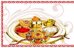 Rakhi Gifts to  - Rakhi  to