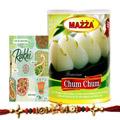 Delight Chum Chum Box With Rakhi Card
