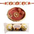 Remarkable Rakhi, Pooja Thali And Ferrero Rochers